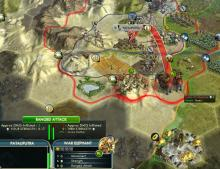 Ranged attacks help you to take down cities.