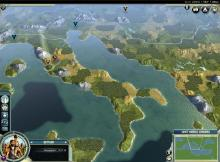 Civilization V lets you take over every continent on Earth.
