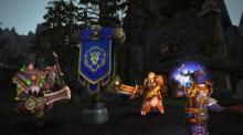 A fight to the death amongst the alliance and horde