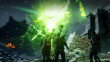 Even heros have to start somewhere. You awaken with the anchor in your palm, and patchy memories. Your encounter with the elf Solas teaches you how to use this new power