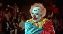 the clowns in this movie like to stalk children