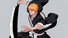 Ichigo with his weapon