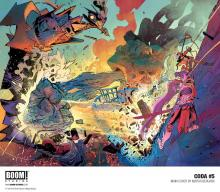 Coda is a colourful, visually stunning title from Boom studios