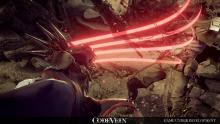 Use unique weapons and blood sucking skills in Code Vein.