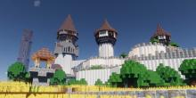 Build impressive castles to house your colony.