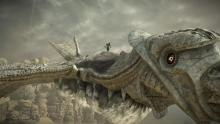 Readers will see Wanderer scaling Phalanx: Shadow of the Colossus