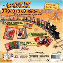 The back of the box for Colt Express