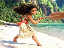 Sail along with Moana as she attempts to search the ocean for the demigod Maui to save her people.