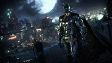 Batman keeps a watch over Gotham City to fight crime.
