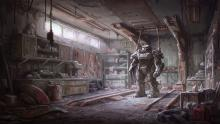 Concept art of the power armor!