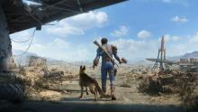 With our companion, Dogmeat!