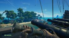 Don't feel like walking to the other side of the island? Jump in a cannon and tell a crew member where to aim and shoot.