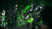 The game will allow you to switch off between the Dark Knight and several of his allies, including Catwoman and Robin