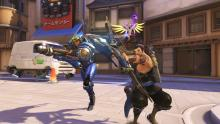 Pharah can fit into a variety of teams, ideally ones that are missing a sturdy source of damage