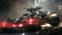 The Arkham Knight Batmobile