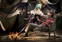 Being murdered by a succubus is the best way to go. (photo by Jay Tablante, from http://blackmagealodia.deviantart.com/art/Darkstalker-Morrigan-Aensland-185641786)