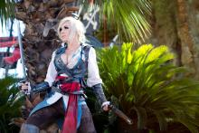 Pirate and assassin! (from https://www.facebook.com/OfficialJessicaNigri/photos/a.356555587532.187802.349054752532/10152532433017533/?type=1&theater)