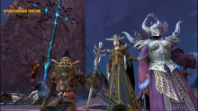 Some of the races in Warhammer: Online