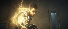 Adam emanates some lightning