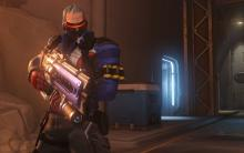 It fires bullets and rockets. I'm pretty sure Soldier 76 can handle any situation- minus the ones involving him taking bullets to the face.