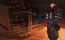 A good look at the gear Soldier 76 is bringing