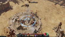 The Colosseum will allow you to test your mettle against other players. It is one of the rare PvP locations.