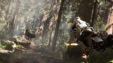 Race speeders through Endor