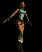 tomb raider 1 lara