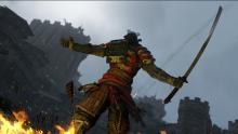 For Honor Samurai posing