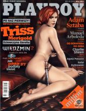 Triss sports the playboy cover