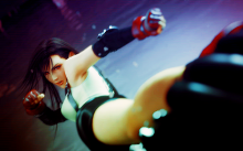 Tifa kicks enemy ass in Dissidia and looks amazing