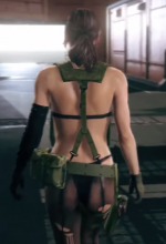 MGS bombshell is mute, but her body is not