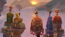 An example of some of the gorgeous character design in Broken Age