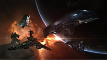 EVE Online updates the game with new cosmetic skins for purchase to make sure that your ship is always in style