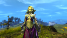 A Sylvari woman from Guild Wars 2