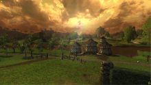 A view of The Shire in LOTRO