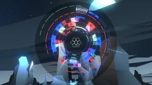 An example of a puzzle in Samantha Kalman's game, Sentris