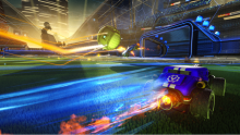 Rocket Boost that ball to the goal!