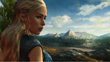 Telltale Games' Game of Thrones has already been esteemed for its watercolor-like art style