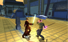 The combat system is one of the best things about KOTOR II. It is unique and rather customizable with skills varying from character to character.