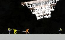 Nidhogg is nearly the polar opposite of Never Alone. Super fast paced, multiplayer action with stripped down graphics and thrilling combat make this game amazing.