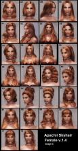 This mod adds a ton of new hairdos to the game and they all look great. Add this mod for some variation.