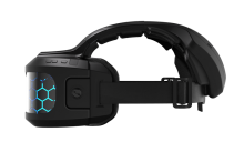 The Cortex purports to be the only headset which combines virtual and augmented reality gaming into one device.