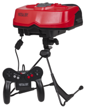 Released way back in 1995, the Virtual Boy by Nintendo claimed to be the first portable game console with 3D graphics. The console was a commercial failure and was discontinued after less than a year on the market.