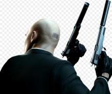 Long pistols are Agent 47's trademark weapons