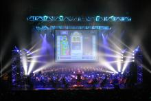 Good old-fashioned Russian tunes! (Photo by Michael J. Trifillis, taken from http://videogameslive.com/gallery/v/flyers/)