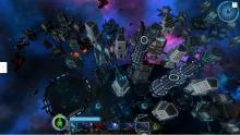 Space age city sim.