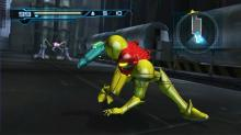 Samus Aran arrayed in her beautiful battle glory.