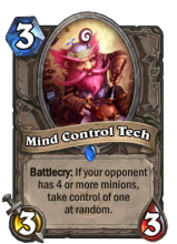 Control the flow of the game with some funky tricks using this card.