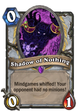 Perhaps there's nothing special about this card, but it's still cool.